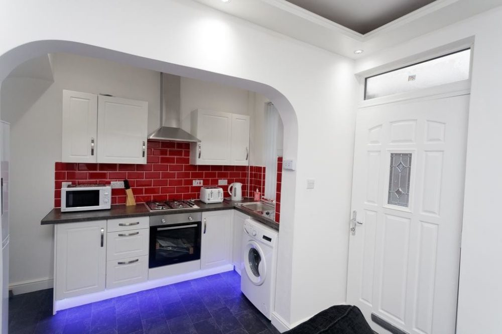 corporate serviced apartments Leeds Kitchen