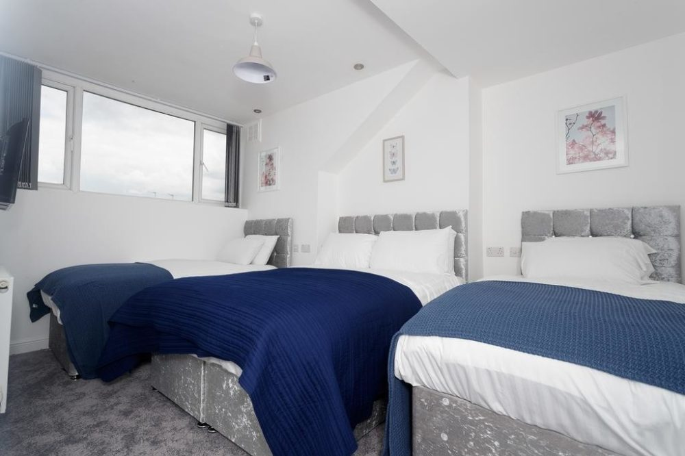 serviced accommodation beds