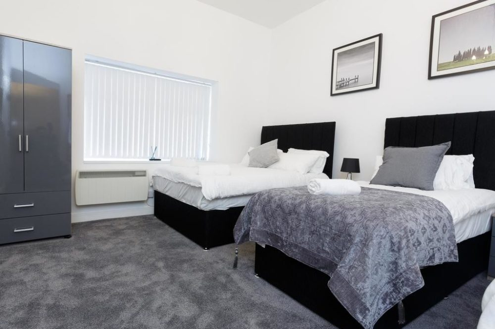 accomodation at leeds bedroom
