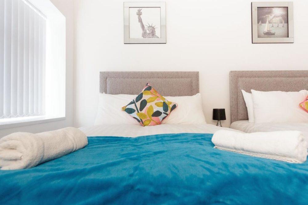 leeds accommodation bedroom